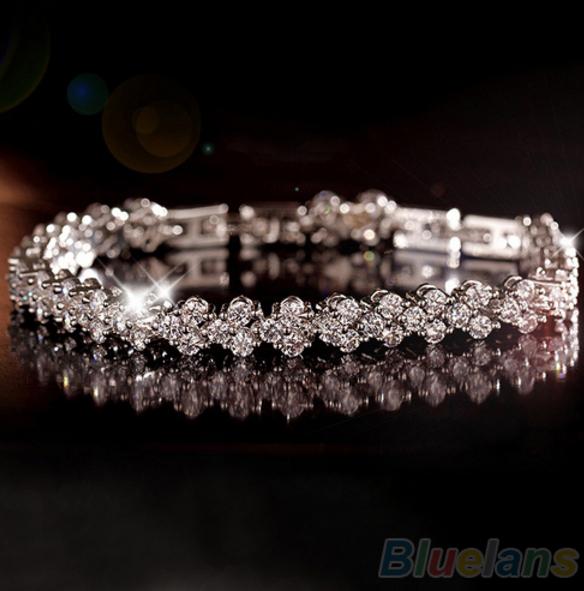 Roman Chain Clear Zircon Crystal
